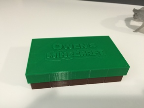 Mini Minecraft Box