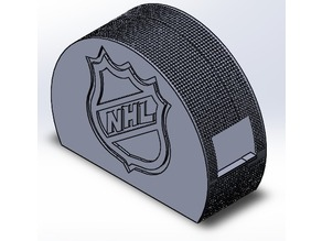 Hockey Puck Tape Dispenser