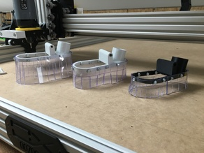 Dust shoe system for CNC