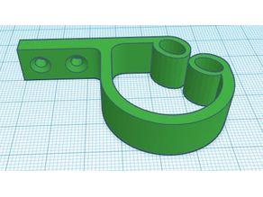 Under Desk Cable Manager v3 (2 hold design)