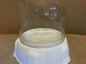 "4"" Display Base for a Glass Dome"