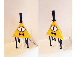 Bill Cipher Figurine
