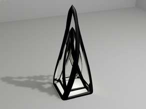 Twisted Abstract Pyramid