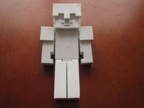 Minecraft Steve Helmet Armor