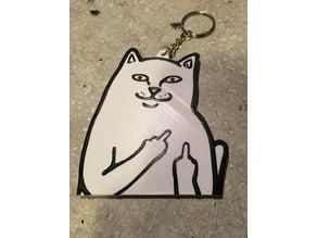 RipNDip Cat, Lord Nermal, Keychain,