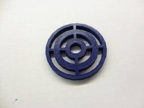 Circles Keytag