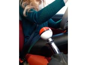 Fiat 500 pokeball knob