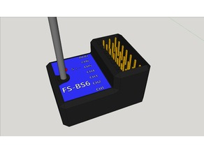 FS-BS6 to-scale receiver