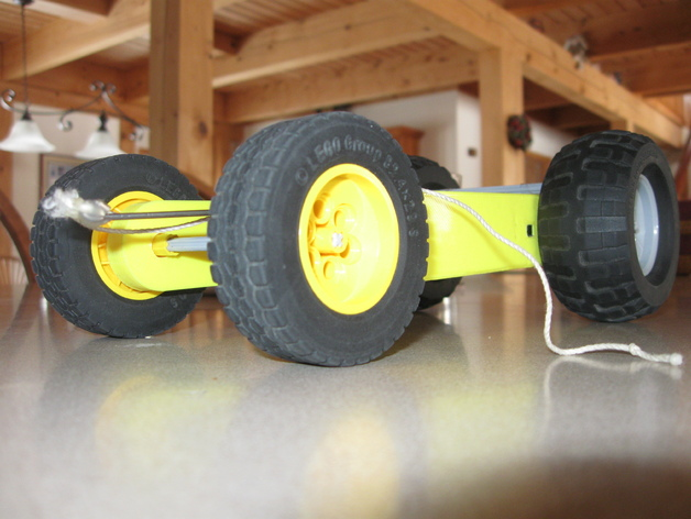 Mouse Trap Car By Chickenchuck040 Thingiverse