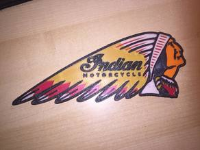 Indian Motorcycles (multicolor layered)