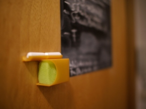 Chalk and sponge holder