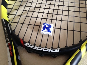Tennis String Vibration Dampener with your LOGO!
