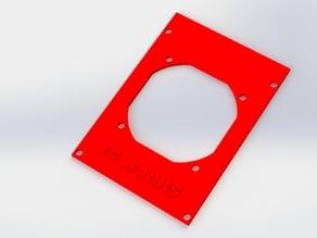 Geeetech GT2560 cooling 60mm fan plate