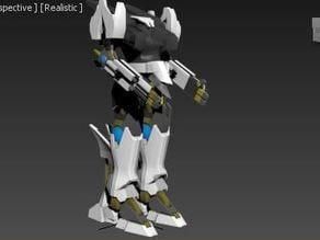Cyborg Knight Mk1 Full Body