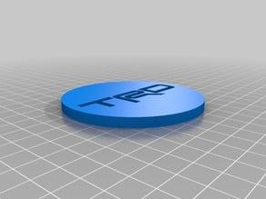 TRD wheel centre cap
