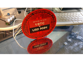 eInk Bitcoin Ticker