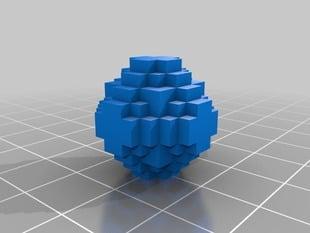 Bedrock Sphere 12 block diameter