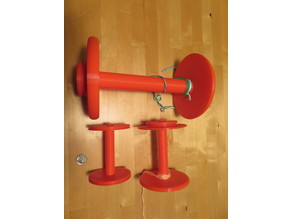 Customizable Spinning Wheel Bobbin