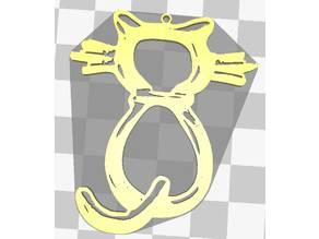 The Cat pendentif