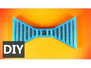 Corbata de moño de lineas - Lines BowTie