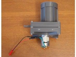 The kinetic brick - rapid fire toy BB gun