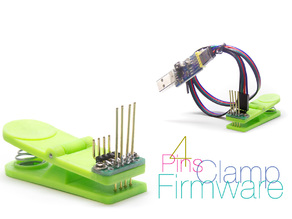 Clamp for firmware controllers 4 pins