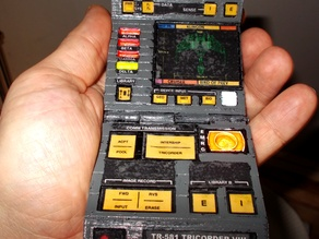 Tricorder with better hinge