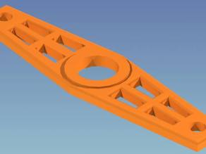 Linear Insulator for KLM KT34 Antenna