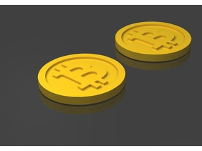Bitcoin Euro Einkaufswagenchip