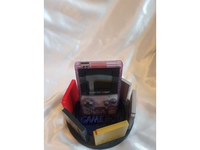 Game Boy and Cartridge Swiveling stand gbc and pocket