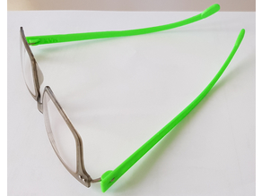 iGreen customized replacement temples
