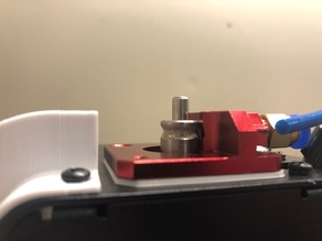 Monoprice Select Mini MK8 (creality style) extruder spacer