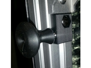 3030 Magnetic Latch and Knob for Enclosure Door