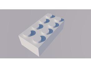 LEGO Brick-2X4-L