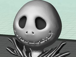 Jack Skellington Bust