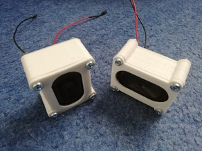 Speakers for the GuardBot