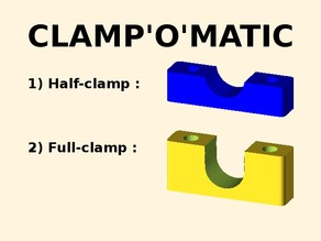 CLAMP'O'MATIC : Parametric cable clamp