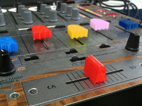 Ghostly Pro-Audio Fader, Crossfader, and Knob assortment for mixers, midi, dj, etc