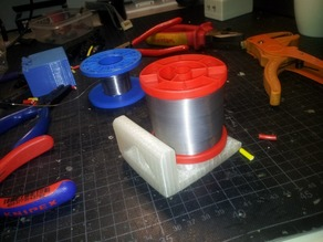 Universal Solder Spool Caddy