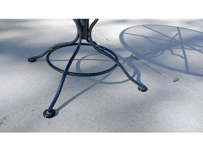 Patio Furniture Glides Puck
