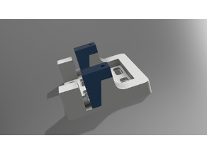 Graupner HBS660BB-MG Servo Holder