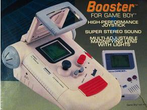 Booster Boy ( Gameboy ) - Buttons