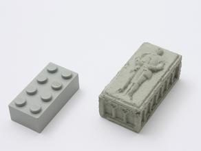 Knight sarcophagus (concrete)