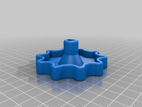 Ender 3 Z-axis knob with hole