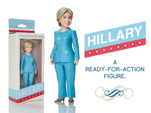 Hillary Doll That I Can Drag Behind My Car