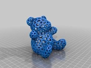 Teddy Bear - Voronoi Style