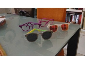 My personal and customizable eyeglasses