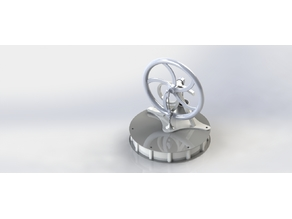 Stirling engine of gamma type
