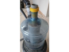 for vacuum cleaner, double cyclone filter (DEMO)