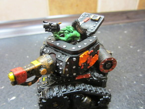 Grot tank - turret upgrade - opening hatches